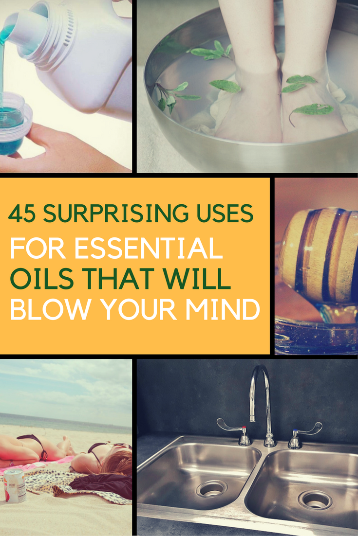 45 Surprising Uses For Essential Oils That Will Blow Your Mind. | Ideahacks.com