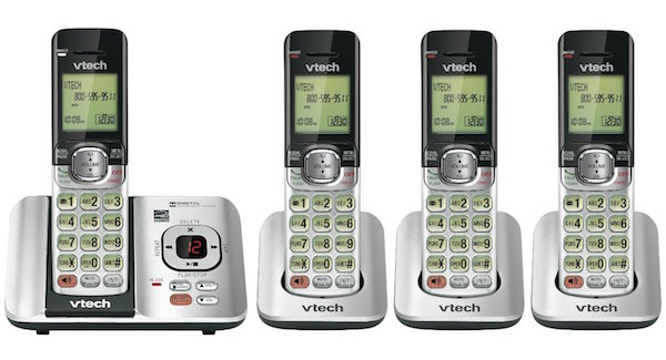 VTech CS6529-4 DECT 6.0 Phone Answering System