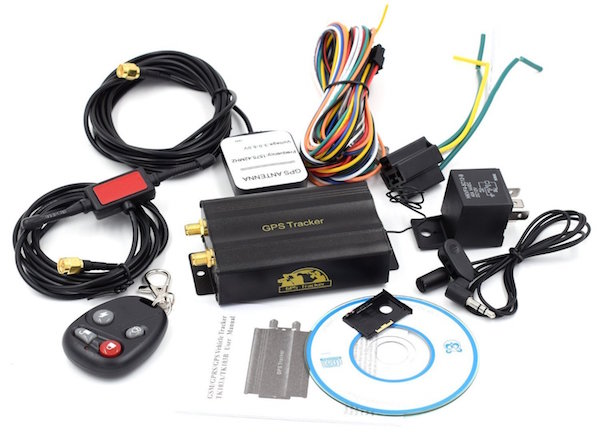Vehicle Car GPS Tracker 103B With Remote Control
