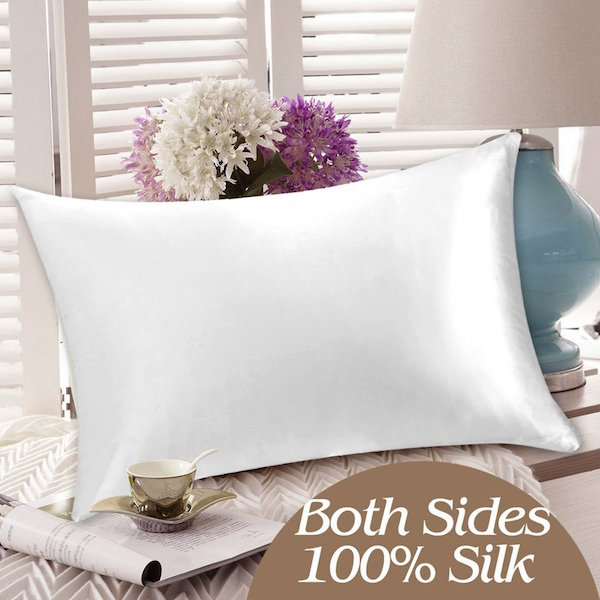 YANIBEST 100% Pure Natural Mulberry Silk Pillowcase