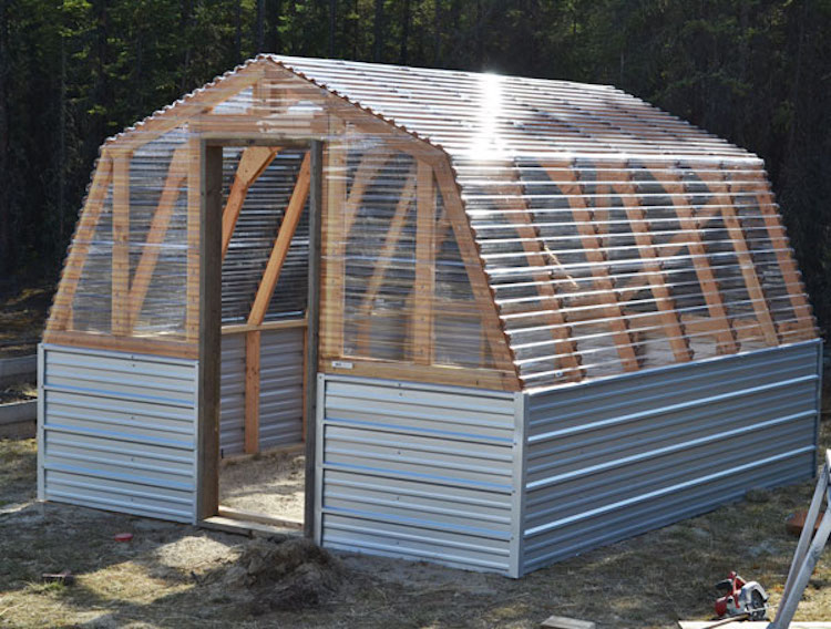 For Those Of You Who Live In An Area Where High Wind Is Issue Or Get Heavy Snowfall This Plan Perfect The Greenhouse Built