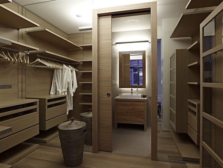 Bathroom Walk-in Closet