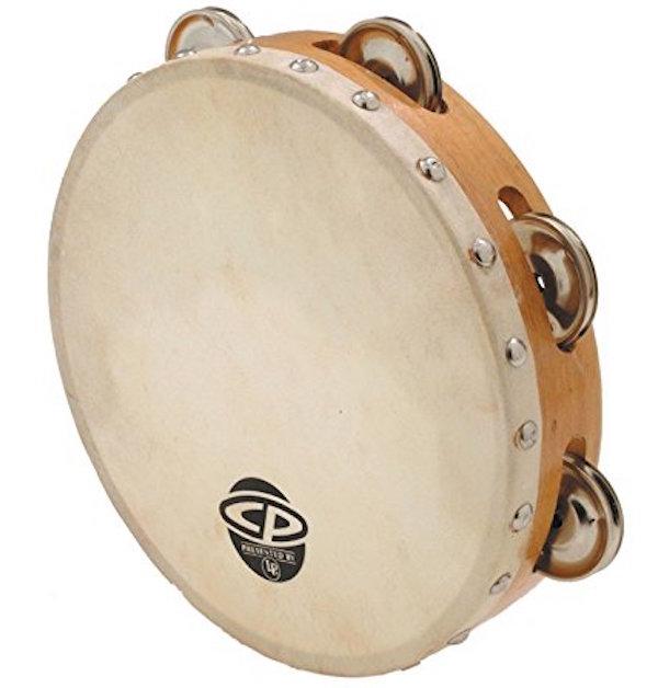 CP378 Wood Tambourine