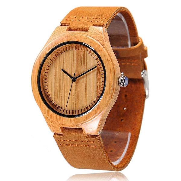 CUCOL Bamboo Wooden Watch