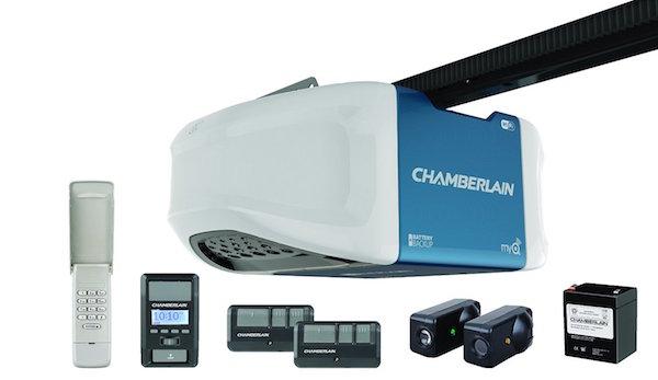 Chamberlain WD1000WF 1-1/4 HPS Smartphone Controlled Wi-Fi Garage Door Opener