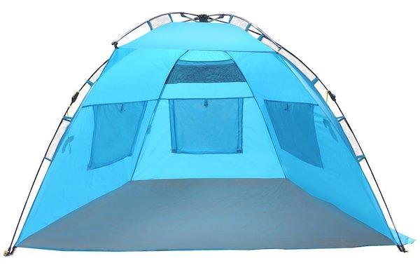 EasyGo Shelter-Instant Easy Up Beach Umbrella Tent