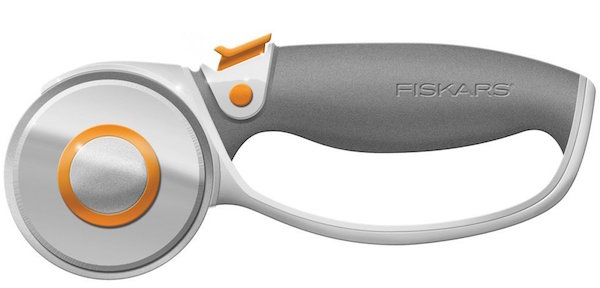 Fiskars 60 Millimeter Titanium Softgrip Comfort Loop Handle Rotary Cutter