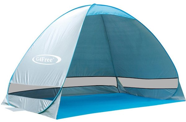 G4 Outdoor Automatic Pop Up Instant Portable Cabana Beach Tent  sc 1 st  IdeaHacks : portable beach tent - memphite.com