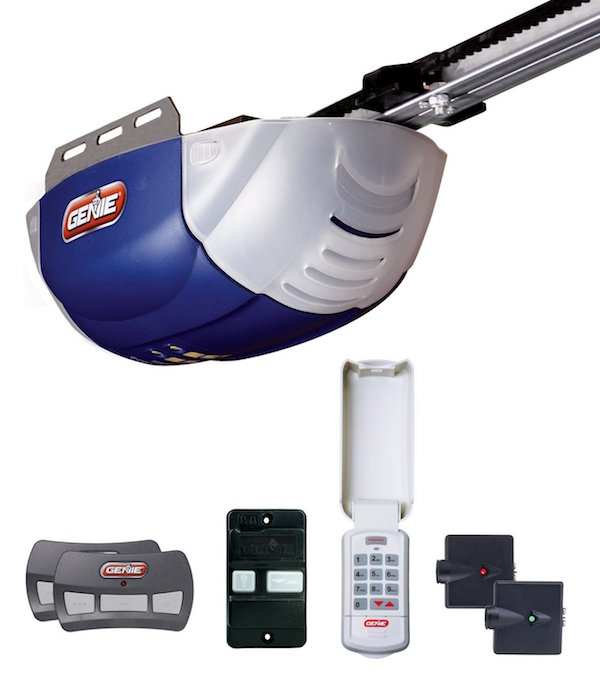 Genie 2042-TKC QuietLift 800 1/2+ HP DC Belt Garage Door Opener