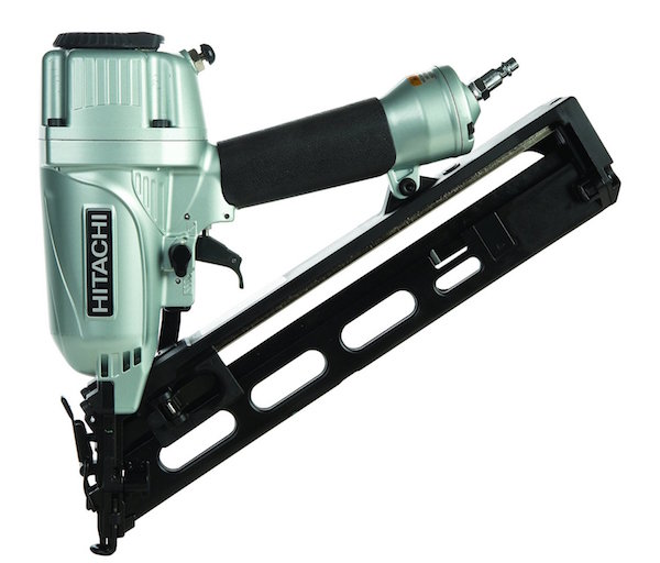 Hitachi NT65MA4 1-1/4 Inch to 2-1/2 Inch 15-Gauge Angled Finish Nailer