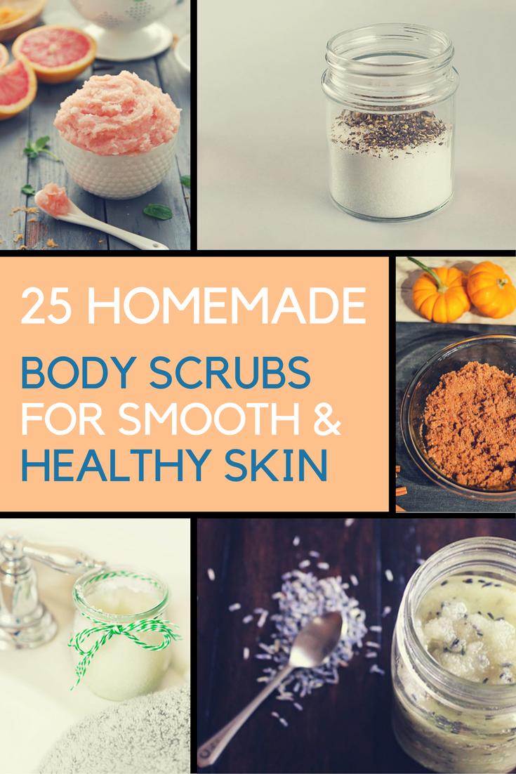 Homemade Body Scrubs for Smooth and Healthy Skin