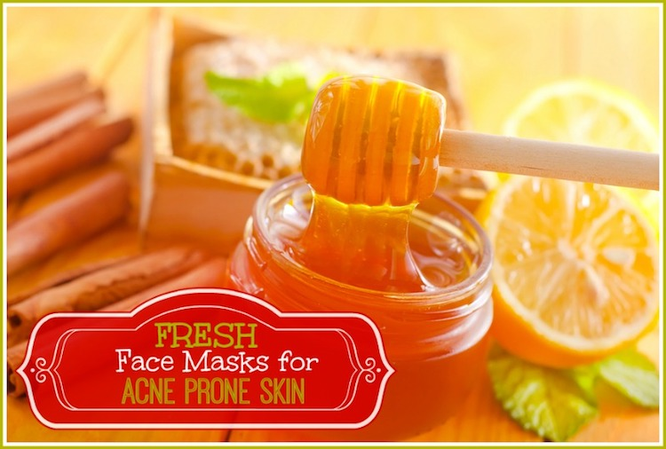 Homemade Face Masks for Acne Prone Skin