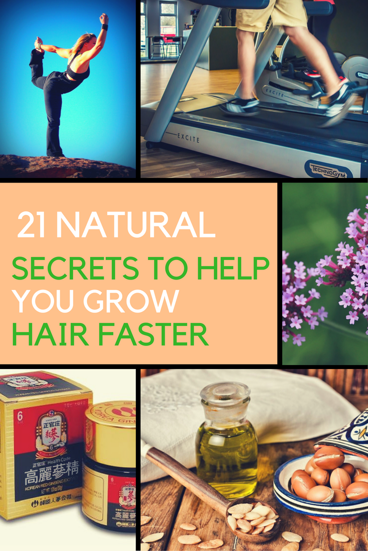 21 Natural Secrets to Help You Grow Hair Faster. | Ideahacks.com
