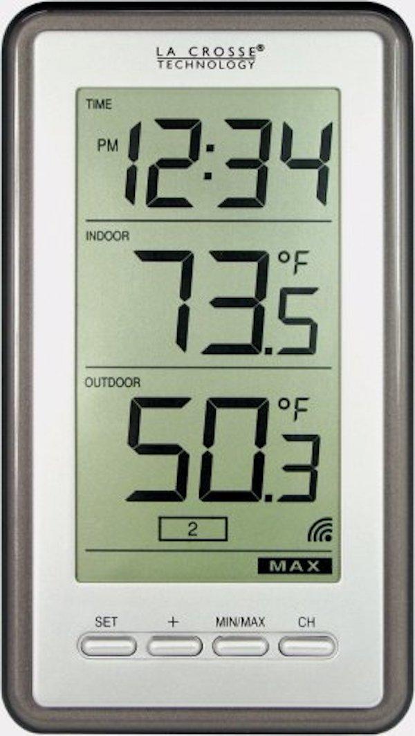 La Crosse Technology WS-9160U-IT Digital Thermometer
