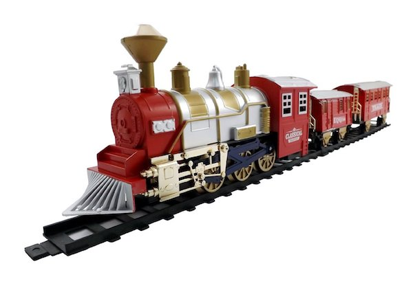 Liberty Imports Classic Train Set For Kids