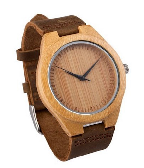Mercimall Men's Wooden Wristwatch