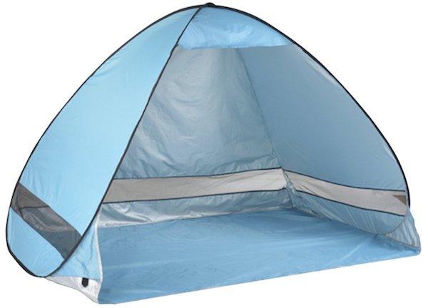Michael Josh Portable and Foldable Pop-Up Anti UV Nylon Beach Tent