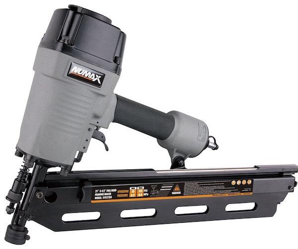NuMax SFR2190 21 Degree Framing Nailer