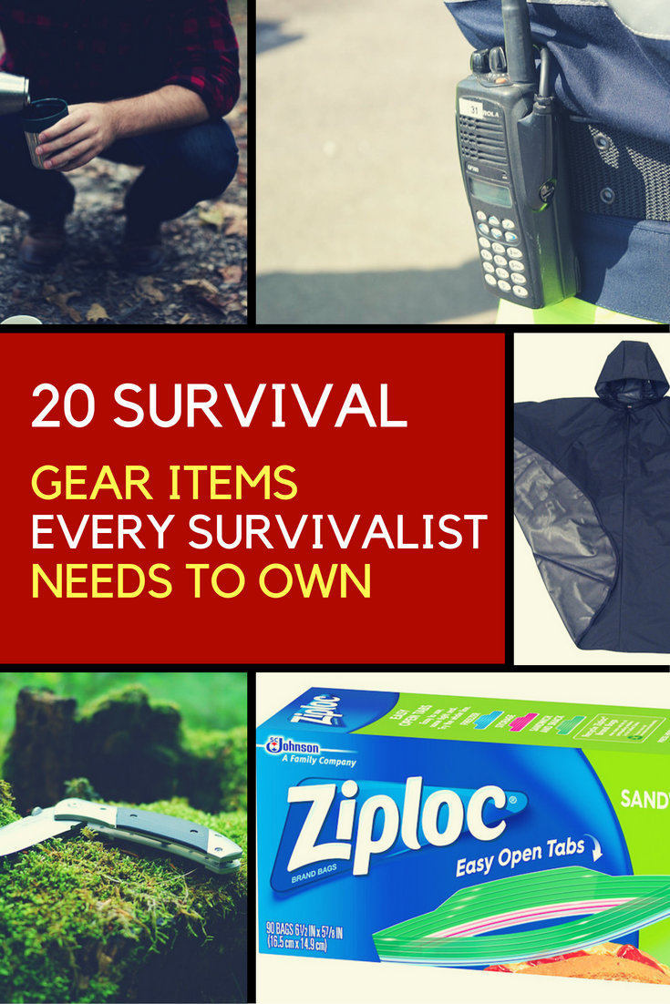 Survival Gear Items