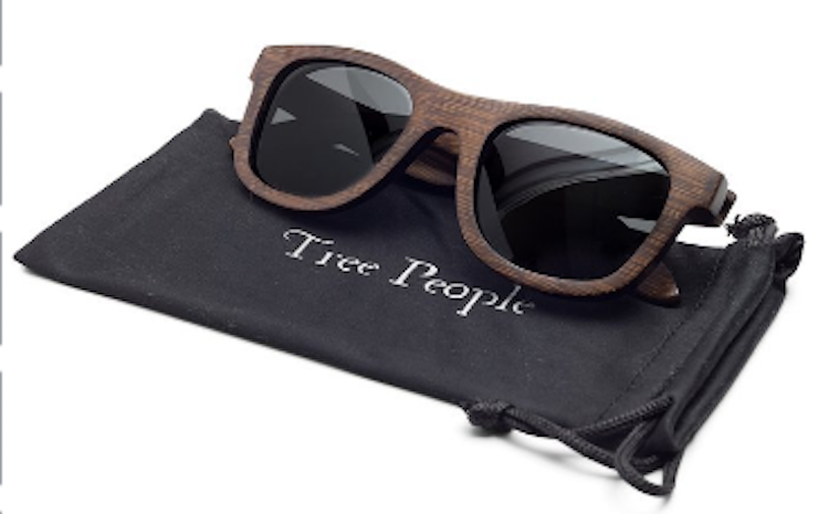 Polarized Bamboo Sunglasses by Tree People