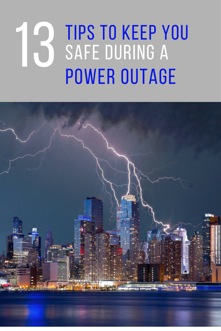 13 Tips to Keep You Safe During a Power Outage. | Ideahacks.com
