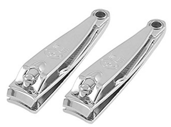 Rosallini Sharp Metal Fingernail Nail Clippers