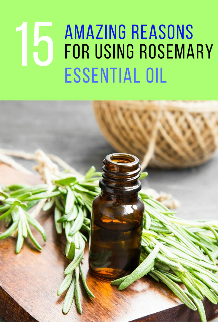 15 Amazing Benefits That Will Make You Want to Use Rosemary Essential Oil. | Ideahacks.com
