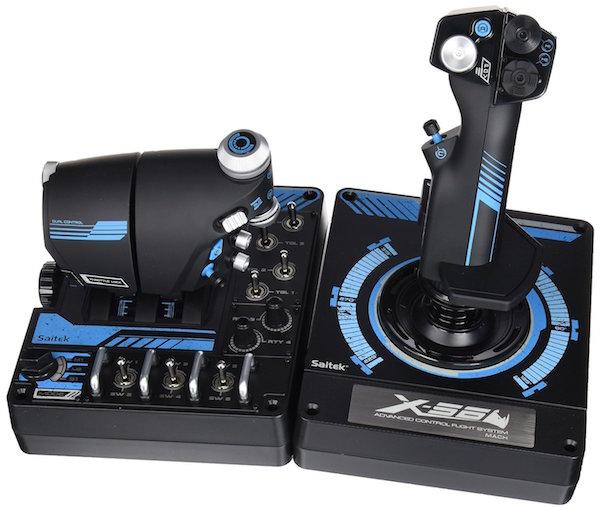 Saitek Pro X-56 Rhino H.O.T.A.S. Video Game Flight Controller