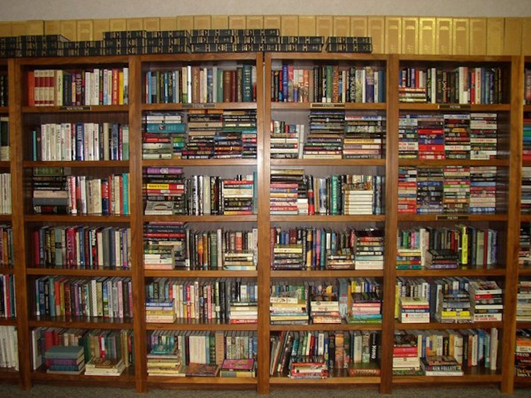 Soundproofing With Book Shelves