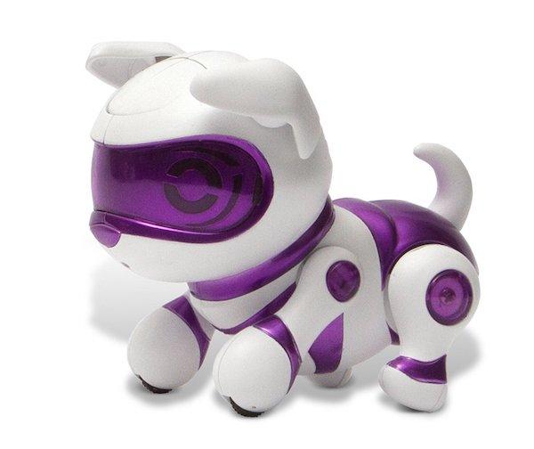 Tekno Newborns Electronic Robotic Pet Puppy Purple Color