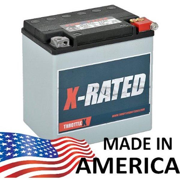 ThrottleX Batteries HDX30L - Harley Davidson Replacement Motorcycle Battery