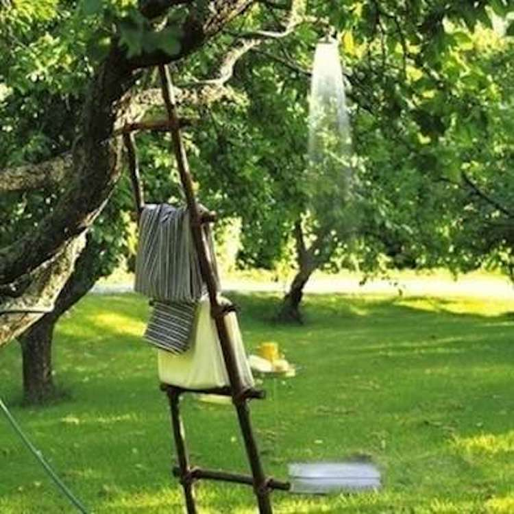 Tree Outdoor Shower