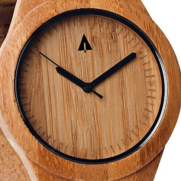 Treehut Men's Wooden Bamboo Watch