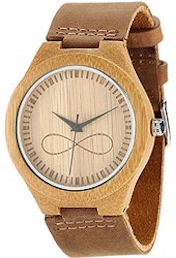 Wonbee Men's Bamboo Wood Watch