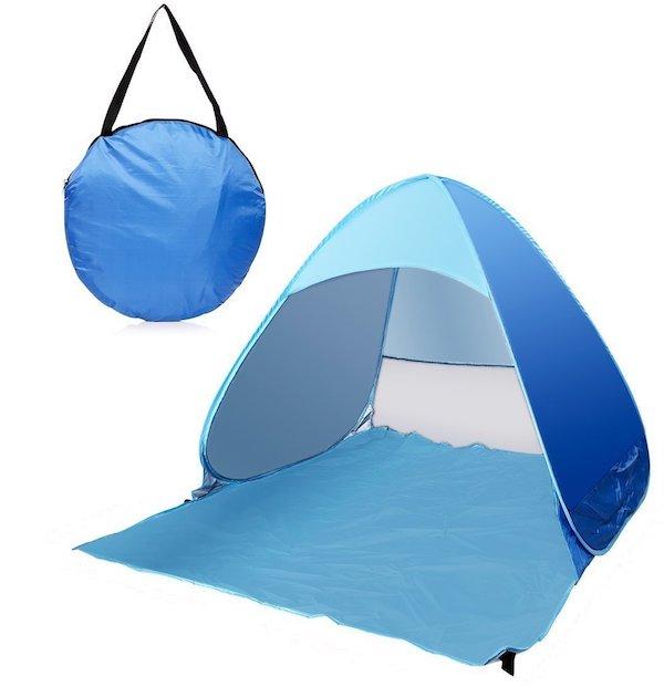 e-Joy 3-Person Automatic Pop Up Cabana Beach Tent
