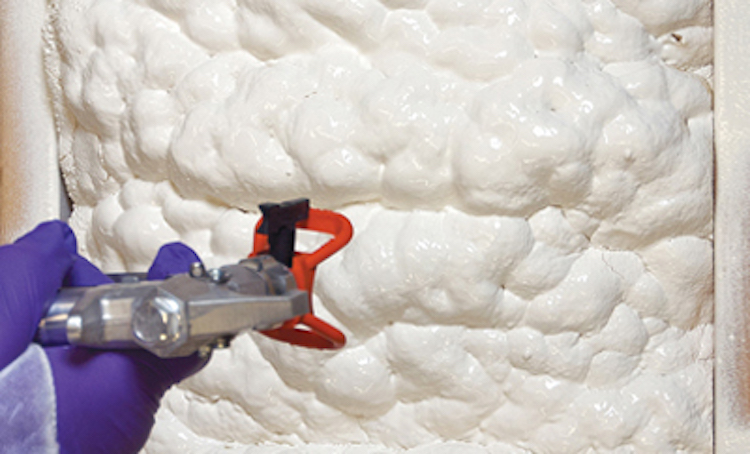 foam insulation to your ceiling