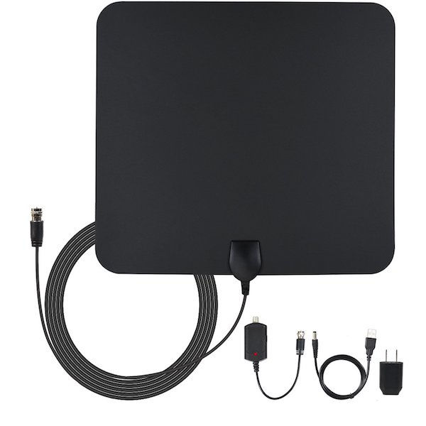 1PLUS TV Antenna 50 Miles Range Amplified Digital TV Antenna