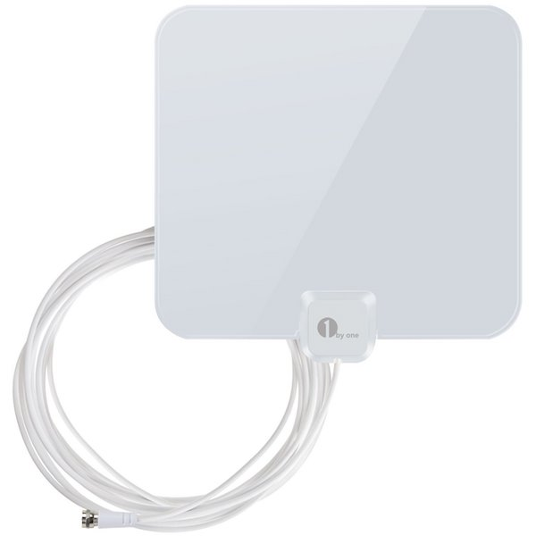1byone 25 Miles Super Thin HDTV Antenna