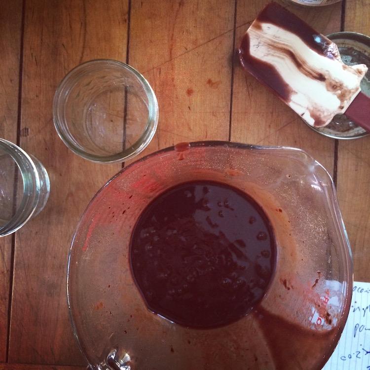 Edible Chocolate Body Butter