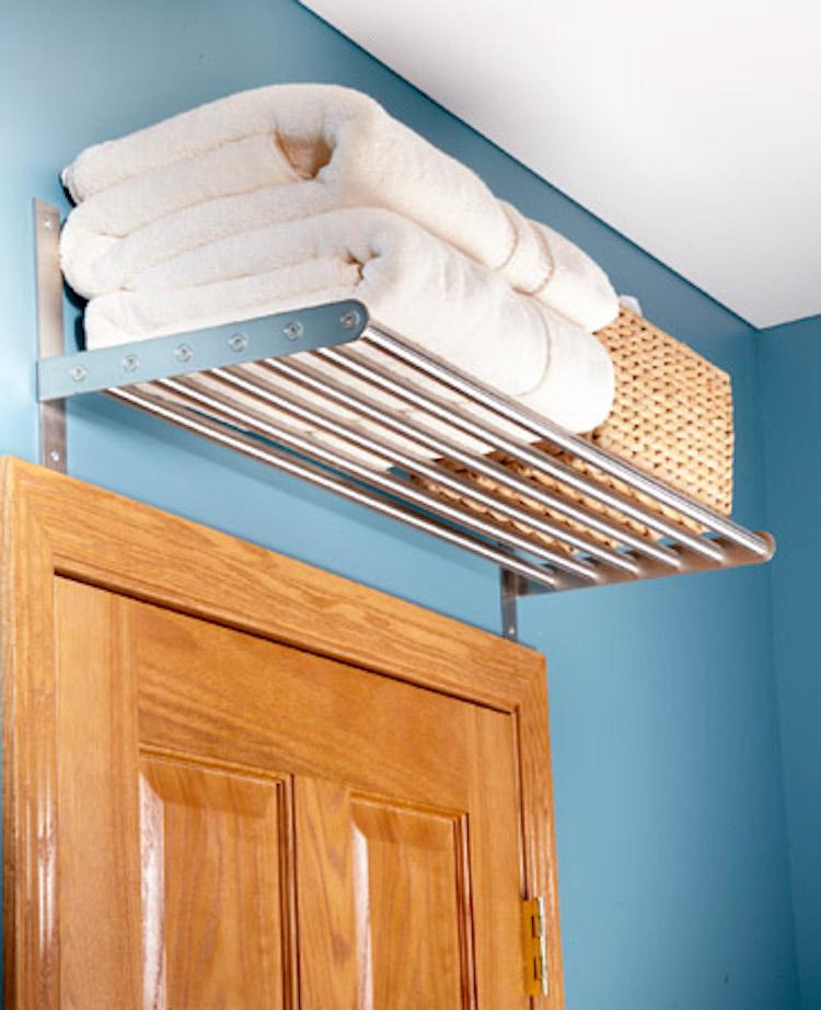 Overhead Door Shelves