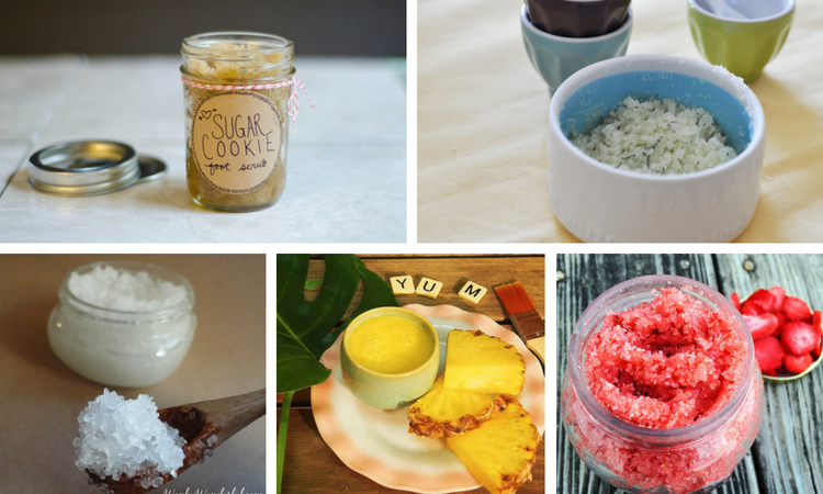 20 Of The World's Best Natural Homemade Foot Scrub Recipes. | Ideahacks.com