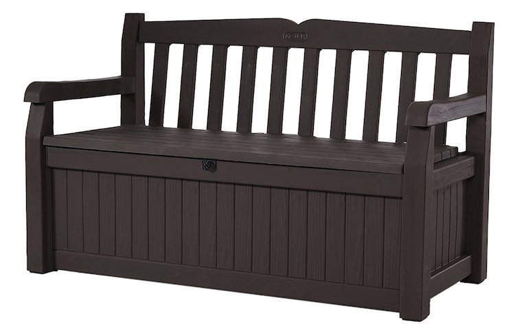 Keter Eden 70-Gallon All Weather Outdoor Patio Storage Garden Bench Deck Box