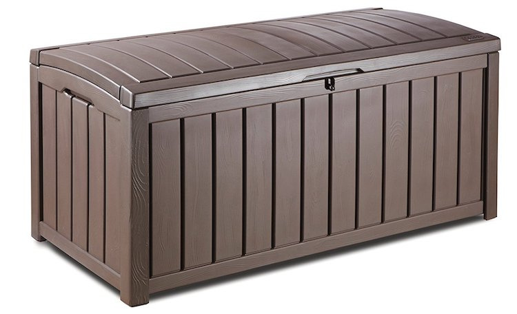 Keter Glenwood Plastic Deck Storage