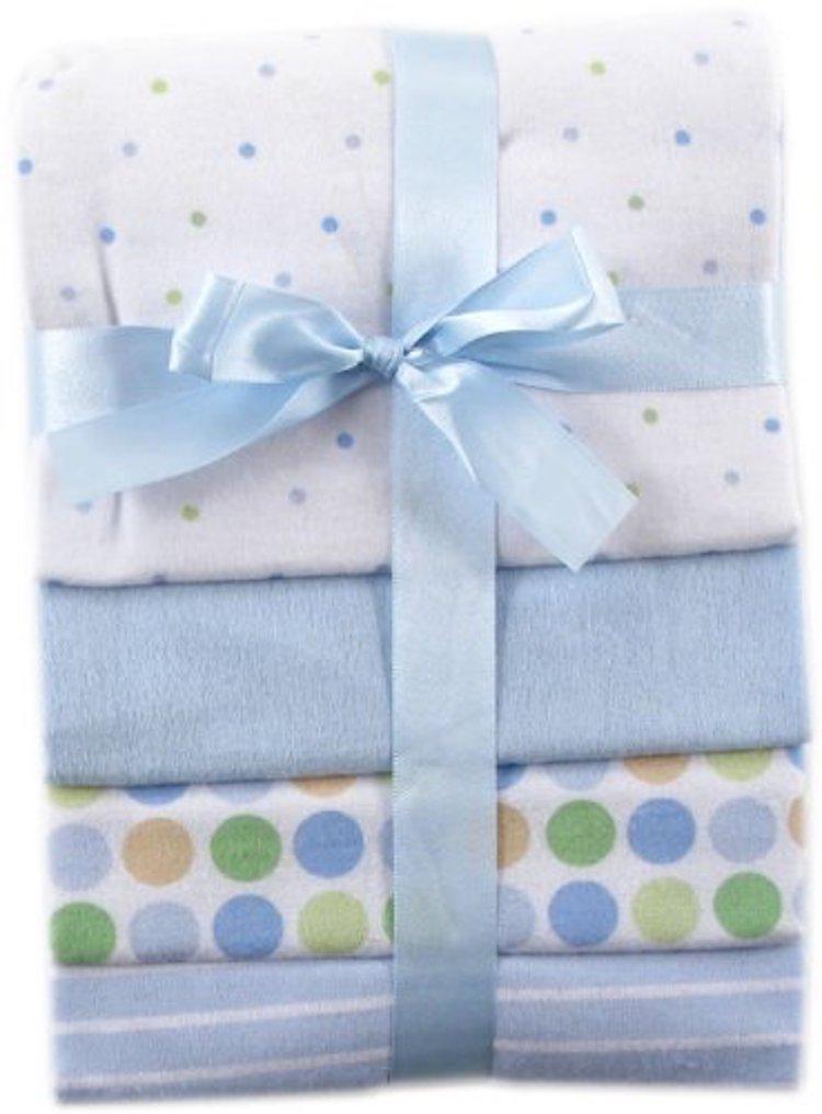 Luvable Friends Flannel Receiving Blankets