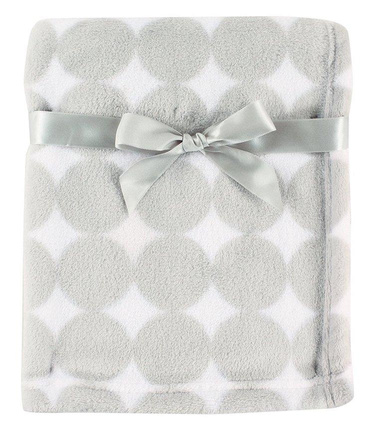 Luvable Friends Print Coral Fleece Blanket