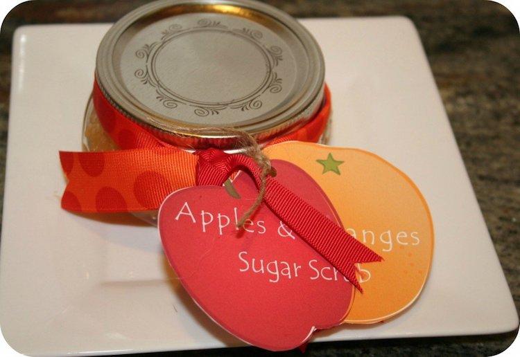 Oranges & Apple Sugar Scrub