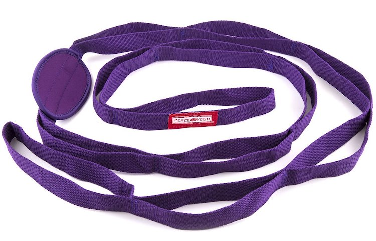 Peace Yoga Stretching Exercise Strap