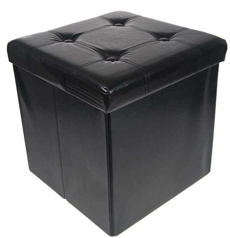Simply Genius Storage Ottoman Collapsible-Foldable Set