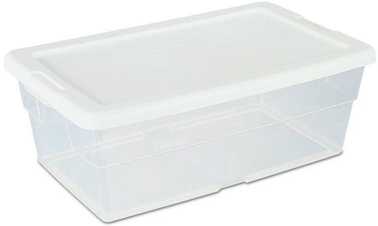 Sterilite Liter Storage Boxes