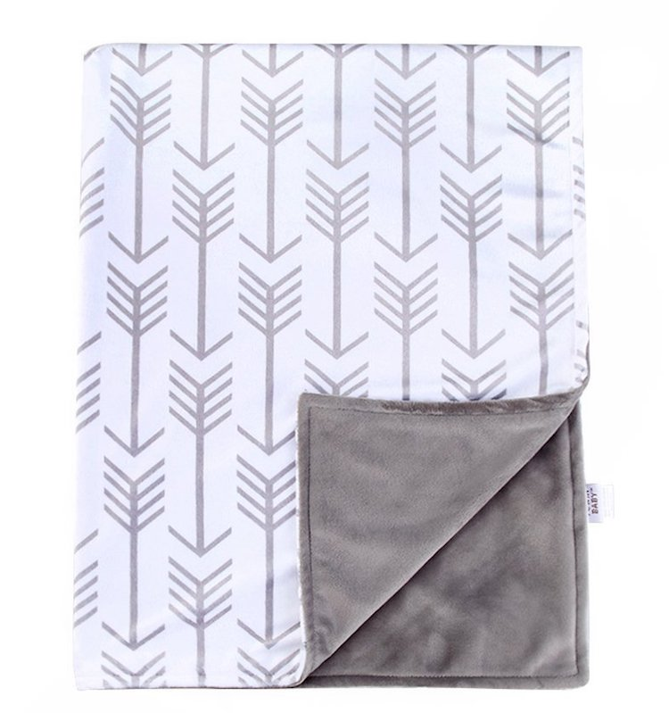 Towin Baby Arrow Minky Receiving Blanket
